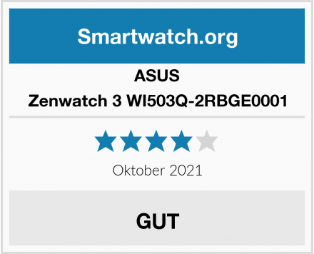 ASUS Zenwatch 3 WI503Q-2RBGE0001 Test