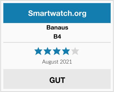 Banaus B4 Test