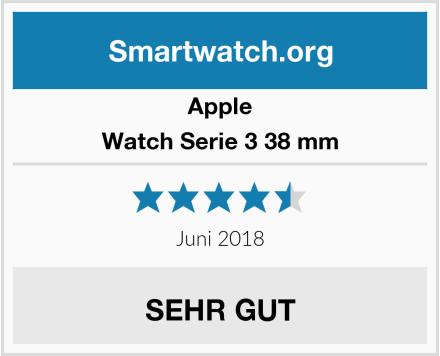 Apple Watch Serie 3 38 mm Test