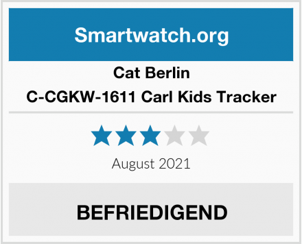 Cat Berlin C-CGKW-1611 Carl Kids Tracker Test