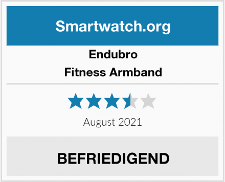 Endubro Fitness Armband Test