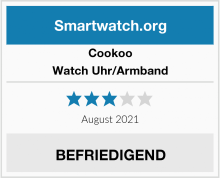 Cookoo Watch Uhr/Armband Test