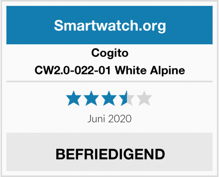 Cogito CW2.0-022-01 White Alpine Test