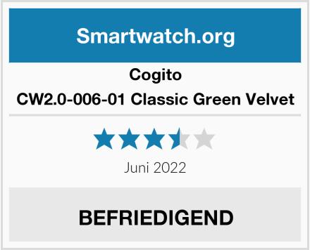 Cogito CW2.0-006-01 Classic Green Velvet Test