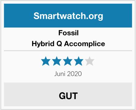 Fossil Hybrid Q Accomplice Test