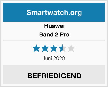 Huawei Band 2 Pro Test