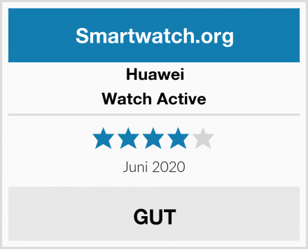 Huawei Watch Active Test