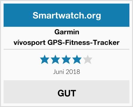 Garmin vívosport GPS-Fitness-Tracker Test