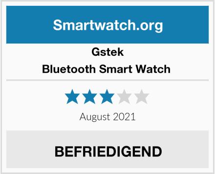Gstek Bluetooth Smart Watch  Test