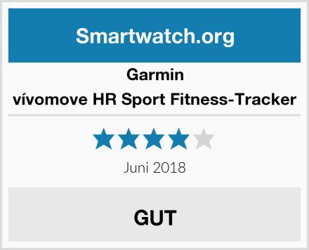 Garmin vívomove HR Sport Fitness-Tracker Test