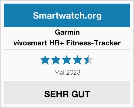 Garmin vívosmart HR+ Fitness-Tracker Test