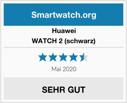 Huawei WATCH 2 (schwarz) Test