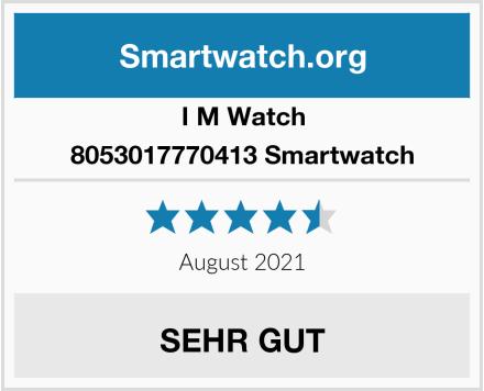 I M Watch 8053017770413 Smartwatch Test