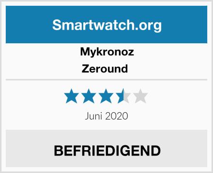 Mykronoz Zeround  Test