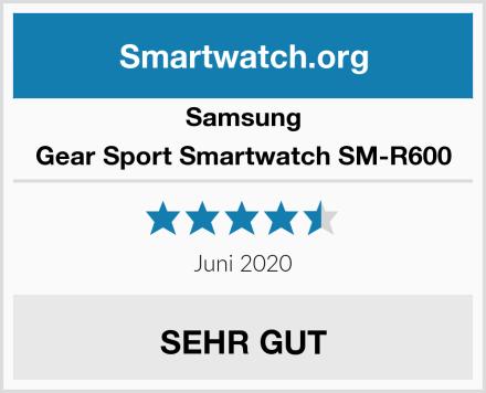 Samsung Gear Sport Smartwatch SM-R600 Test