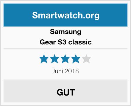 Samsung Gear S3 classic Test