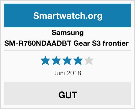 Samsung SM-R760NDAADBT Gear S3 frontier  Test
