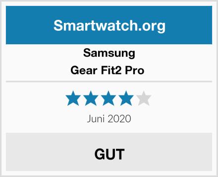 Samsung Gear Fit2 Pro  Test