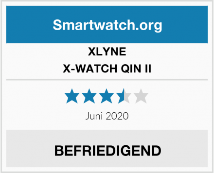 XLYNE X-WATCH QIN II Test
