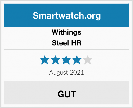 Withings Steel HR Test
