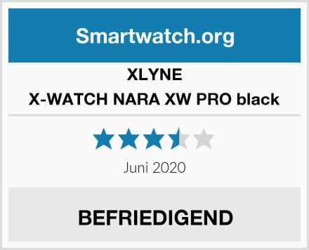 XLYNE X-WATCH NARA XW PRO black Test