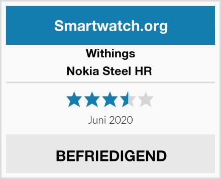 Withings Nokia Steel HR  Test
