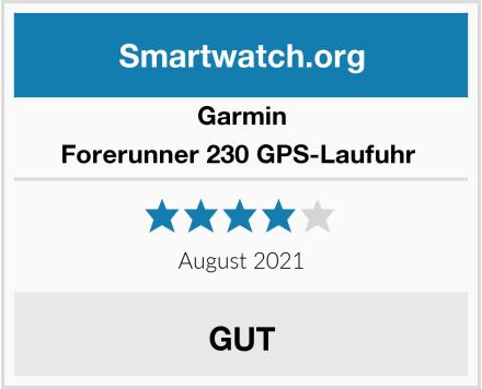 Garmin Forerunner 230 GPS-Laufuhr  Test