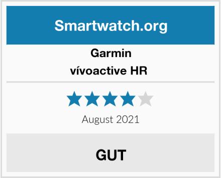 Garmin vívoactive HR  Test