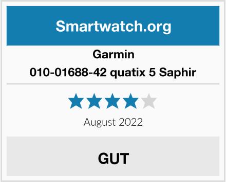 Garmin 010-01688-42 quatix 5 Saphir Test