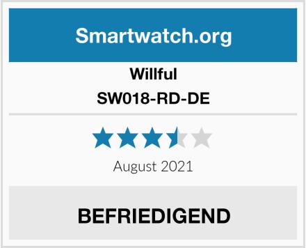Willful SW018-RD-DE Test