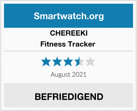 CHEREEKI Fitness Tracker  Test