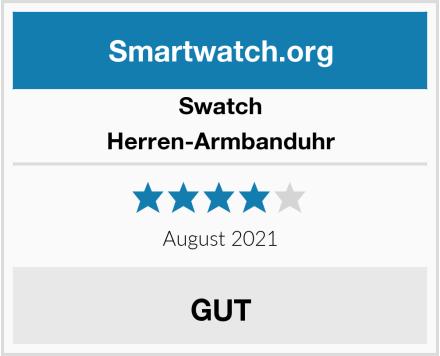 Swatch Herren-Armbanduhr Test