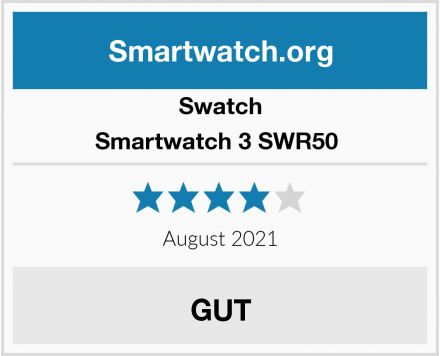 Swatch Smartwatch 3 SWR50  Test