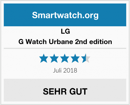 LG G Watch Urbane 2nd edition Test