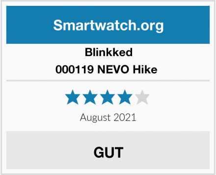 Blinkked 000119 NEVO Hike  Test