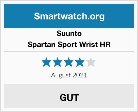 Suunto Spartan Sport Wrist HR Test