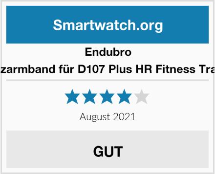 Endubro Ersatzarmband für D107 Plus HR Fitness Tracker  Test