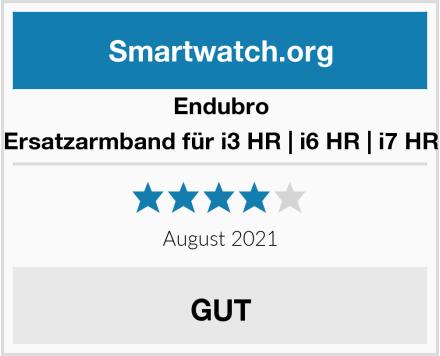 Endubro Ersatzarmband für i3 HR | i6 HR | i7 HR Test