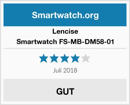 Lencise Smartwatch FS-MB-DM58-01 Test