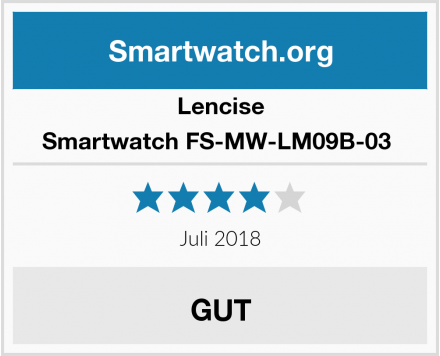 Lencise Smartwatch FS-MW-LM09B-03  Test