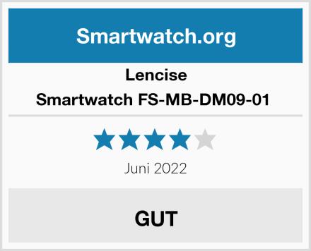 Lencise Smartwatch FS-MB-DM09-01  Test
