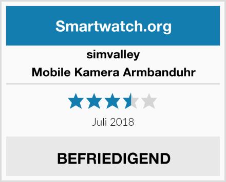 simvalley Mobile Kamera Armbanduhr Test