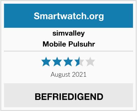 simvalley Mobile Pulsuhr Test