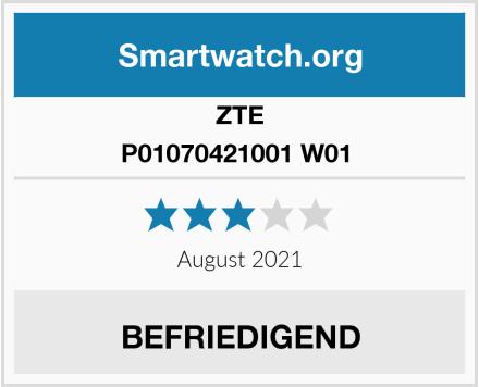 ZTE P01070421001 W01  Test
