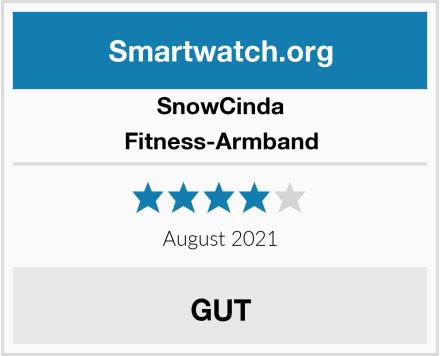 SnowCinda Fitness-Armband Test