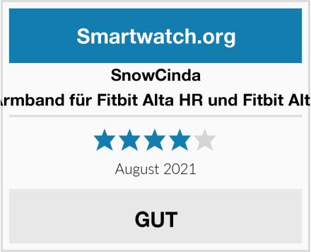 SnowCinda Armband für Fitbit Alta HR und Fitbit Alta Test