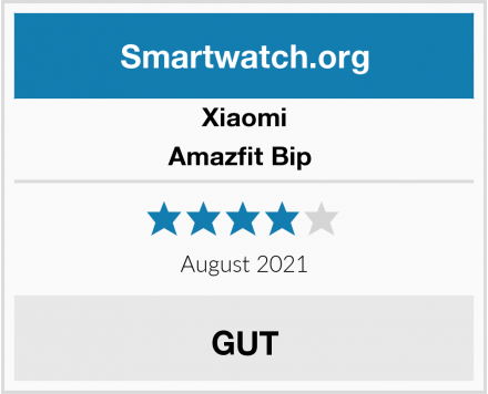 Xiaomi Amazfit Bip  Test