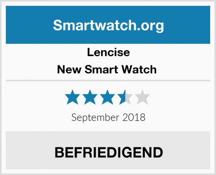 Lencise New Smart Watch  Test