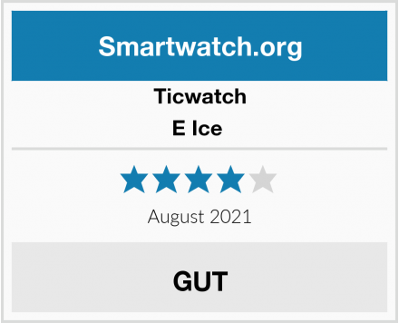 Ticwatch E Ice  Test