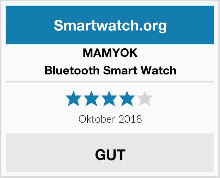 MAMYOK Bluetooth Smart Watch Test